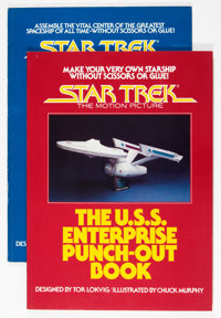 Star Trek: The Motion Picture Punch-Out Books (Wanderer, 1980).... (Total: 2 Items)