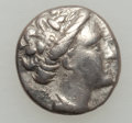 Ancients:Ancient Lots  , Ancients: GREEK. Lot of two silver coins. ... (Total: 2 coins)