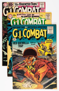 G.I. Combat Group (DC/Quality, 1955-63).... (Total: 4 Items)