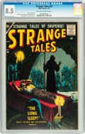 Silver Age (1956-1969):Horror, Strange Tales #54 (Atlas, 1957) CGC VF+ 8.5 Off-white to whitepages....