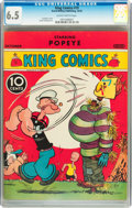 Platinum Age (1897-1937):Miscellaneous, King Comics #19 (David McKay Publications, 1937) CGC FN+ 6.5Slightly brittle pages....