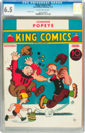 Platinum Age (1897-1937):Miscellaneous, King Comics #20 (David McKay Publications, 1937) CGC FN+ 6.5Slightly brittle pages....