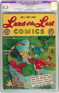 Golden Age (1938-1955):Humor, Land of the Lost Comics #1 (EC, 1946) CGC Apparent VF 8.0 Slight (P) Off-white pages....