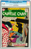 Silver Age (1956-1969):Mystery, The New Adventures of Charlie Chan #5 (DC, 1959) CGC FN/VF 7.0Off-white to white pages....