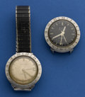 Timepieces:Wristwatch, Two Bulova Astronaut Models. ... (Total: 2 Items)