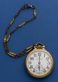 Timepieces:Pocket (post 1900), Illinois 23 Jewel Grade 163 Sixty Hour Bunn Special. ...