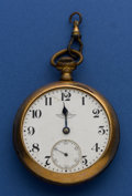 Timepieces:Pocket (post 1900), Ball 21 Jewel 18 Size B. of L. F. & E. Grade 999 Official Standard. ...