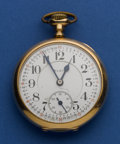 Timepieces:Pocket (post 1900), Elgin 21 Jewel Grade No. 270 Bridge Model Pocket Watch. ...