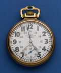 Timepieces:Pocket (post 1900), Ball 21 Jewel 16 Size Official Standard. ...