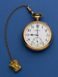 Timepieces:Pocket (post 1900), Ball Official Standard 23 Jewel Pocket Watch. ...