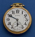Timepieces:Pocket (post 1900), Illinois 21 Jewel Grade 161 Elinvar Bunn Special. ...
