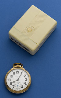Hamilton 21 Jewel 992 B Pocket Watch