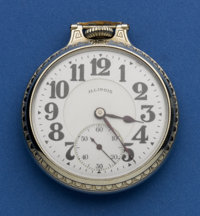 Illinois 165 Bunn Special 23 Jewel Pocket Watch