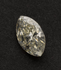 Unmounted Marquise Cut Diamond