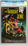 Silver Age (1956-1969):Horror, Twilight Zone #14 Twin Cities pedigree (Gold Key, 1966) CGC NM 9.4Off-white to white pages....