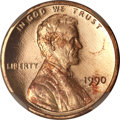 Proof Lincoln Cents, 1990 1C No S PR68 Red Ultra Cameo NGC. FS-101....