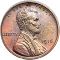 Proof Lincoln Cents, 1916 1C PR65 Brown PCGS....