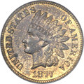 Proof Indian Cents, 1877 1C PR63 Red and Brown PCGS. CAC....