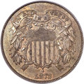 Two Cent Pieces, 1872 2C MS64 Brown PCGS. CAC. FS-101....