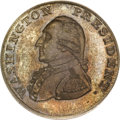Colonials, 1791 1C Washington Small Eagle Cent MS65 Brown PCGS. Baker-16,W-10630, R.3....