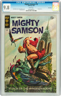 Silver Age (1956-1969):Adventure, Mighty Samson #18 Twin Cities pedigree (Gold Key, 1969) CGC NM/MT 9.8 White pages....