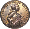 Betts Medals, Betts-405. 1758 Boscawen at Louisbourg. Pinchbeck. Extremely Fine....