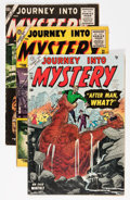 Golden Age (1938-1955):Horror, Journey Into Mystery Group (1954-56) Condition: Average VG+....(Total: 3 Comic Books)