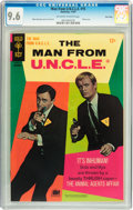 Silver Age (1956-1969):Adventure, Man from U.N.C.L.E. #15 Twin Cities pedigree (Gold Key, 1967) CGC NM+ 9.6 Off-white to white pages....