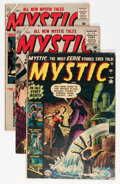 Golden Age (1938-1955):Horror, Mystic #10, 40, and 55 Group (Atlas, 1952-57).... (Total: 3 ComicBooks)