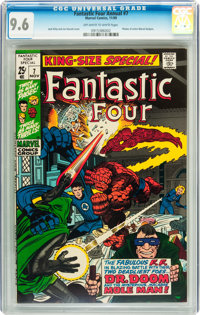 Fantastic Four Annual #7 (Marvel, 1969) CGC NM+ 9.6 Off-white to white pages