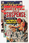 Golden Age (1938-1955):Science Fiction, Tales of Suspense Group (Marvel, 1961-62).... (Total: 4 ComicBooks)