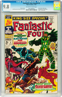 Fantastic Four Annual #5 (Marvel, 1967) CGC NM/MT 9.8 Off-white to white pages