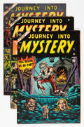Golden Age (1938-1955):Horror, Journey Into Mystery Group (Marvel, 1953-55) Condition: AverageVG.... (Total: 5 Comic Books)