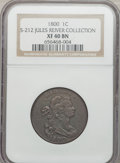 Large Cents, 1800 1C XF40 NGC. S-212, B-20, R.3. ...