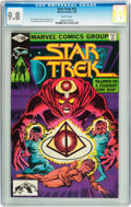 Modern Age (1980-Present):Science Fiction, Star Trek #12 (Marvel, 1981) CGC NM/MT 9.8 White pages....
