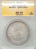 Mexico, Mexico: Republic Cap and Rays Peso 1846 Mo-MF,...