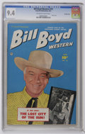 Golden Age (1938-1955):Western, Bill Boyd Western #15 Crowley Copy pedigree (Fawcett, 1951) CGC NM 9.4 Off-white to white pages. Photo cover. Highest CGC gr...