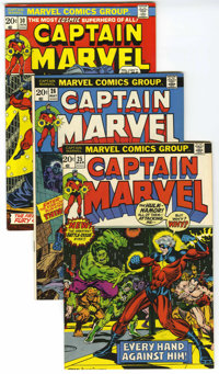 Captain Marvel Group (Marvel, 1973-79).... (Total: 3)