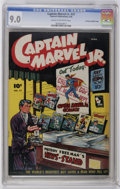 Golden Age (1938-1955):Superhero, Captain Marvel Jr. #37 Crowley Copy/File Copy (Fawcett, 1946) CGC VF/NM 9.0 Cream to off-white pages. Infinity cover. Bears ...