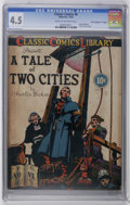 "Golden Age (1938-1955):Classics Illustrated, Classic Comics #6 A Tale of Two Cities - Original Edition - Davis Crippen (""D"" Copy) pedigree (Gilberton, 1942) CGC VG+ 4.5 Cr..."