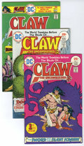 Bronze Age (1970-1979):Miscellaneous, Claw the Unconquered #1-12 Group (DC, 1975-78) Condition: AverageVF/NM.... (Total: 2)