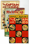 """Golden Age (1938-1955):Miscellaneous, Comics On Parade Group - Davis Crippen (""""D"""" Copy) pedigree (United Features Syndicate, 1947-48)...."""