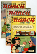 """Golden Age (1938-1955):Miscellaneous, Comics On Parade Group - Davis Crippen (""""D"""" Copy) pedigree (United Features Syndicate, 1950-51)...."""