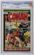 Bronze Age (1970-1979):Miscellaneous, Conan the Barbarian #17 (Marvel, 1972) CGC NM/MT 9.8 Whitepages....