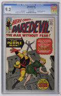 Silver Age (1956-1969):Superhero, Daredevil #4 (Marvel, 1964) CGC NM- 9.2 Off-white pages....