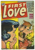 "Golden Age (1938-1955):Romance, First Love Illustrated #31 Davis Crippen (""D"" Copy) pedigree(Harvey, 1953) Condition: VF. Overstreet 2006 VF 8.0 value = $3..."