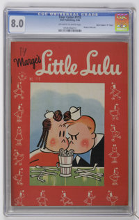 "Four Color #110 Marge's Little Lulu - Davis Crippen (""D"" Copy) pedigree (Dell, 1946) CGC VF 8.0 Off-white to w..."