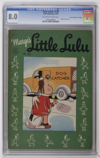 "Four Color #120 Marge's Little Lulu - Davis Crippen (""D"" Copy) pedigree (Dell, 1946) CGC VF 8.0 Off-white to w..."