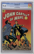 "Golden Age (1938-1955):Science Fiction, Four Color #437 John Carter of Mars - Davis Crippen (""D"" Copy) pedigree (Dell, 1952) CGC VF/NM 9.0 Off-white to white pages...."