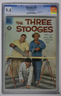 Silver Age (1956-1969):Humor, Four Color #1170 and 1187 - Three Stooges CGC File Copy Group (Dell, 1961). Contains a CGC NM 9.4 copy of #1170 (Three Stoog... (Total: 2 Comic Books)